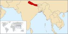 Carte du Nepal